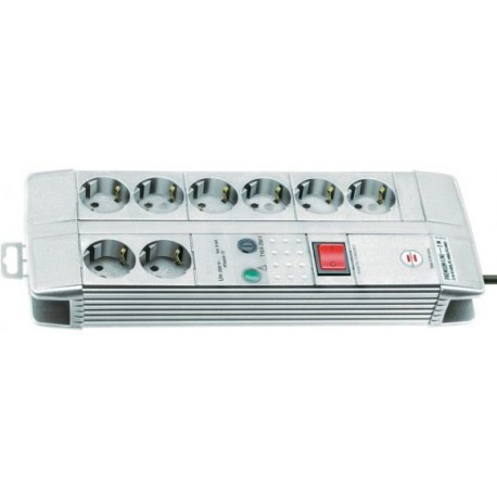Surge-Voltage-Protection Multiple (8) Socket Strip EU-DE 230V with switch 30,000 A