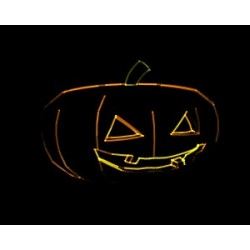 Halloween Jack O\'Lantern 955 frames as ILDA format !!! Free of charge from 50 € order value !!!